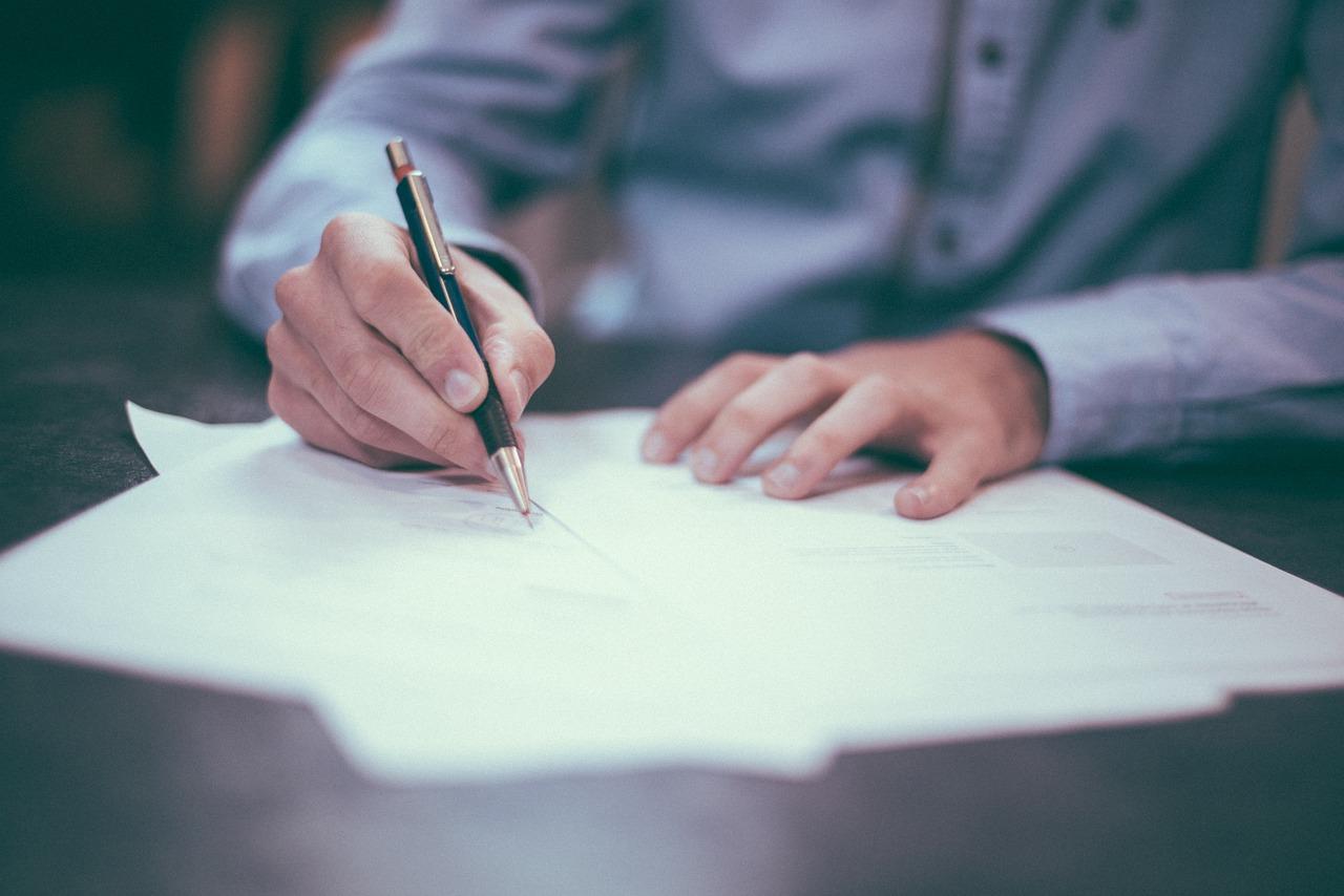 dědická smlouva podpis