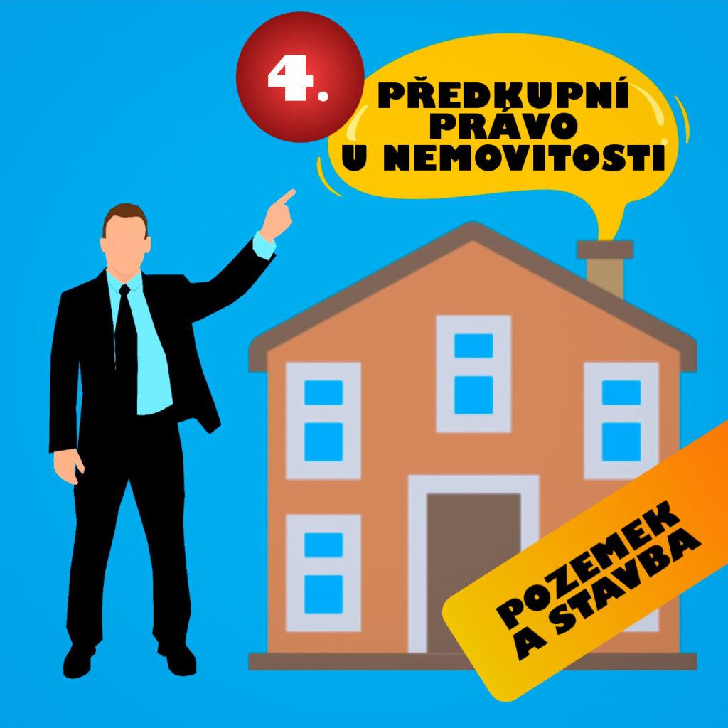 předkupní právo k nemovitosti